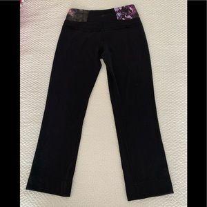Lululemon Bloom Special Edition Groove Crop Pants